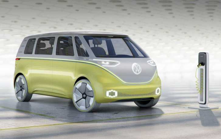 2022 Volkswagen Bus The New Generation Id Buzz Microbus Preview Vw Suv Models